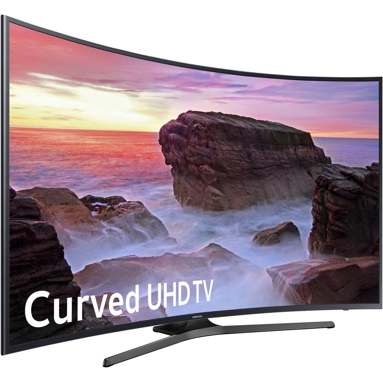 "Samsung 65"" Class Curved 4K 2160P Smart LED TV UN65MU6500FXZA"