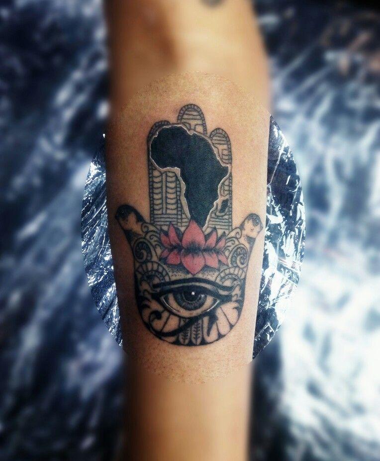 c1c1b6027 Tatuaje mano de Fátima/ hamsa, Fátima /hamsa hand tattoo Hamsa Prayer,  Africa