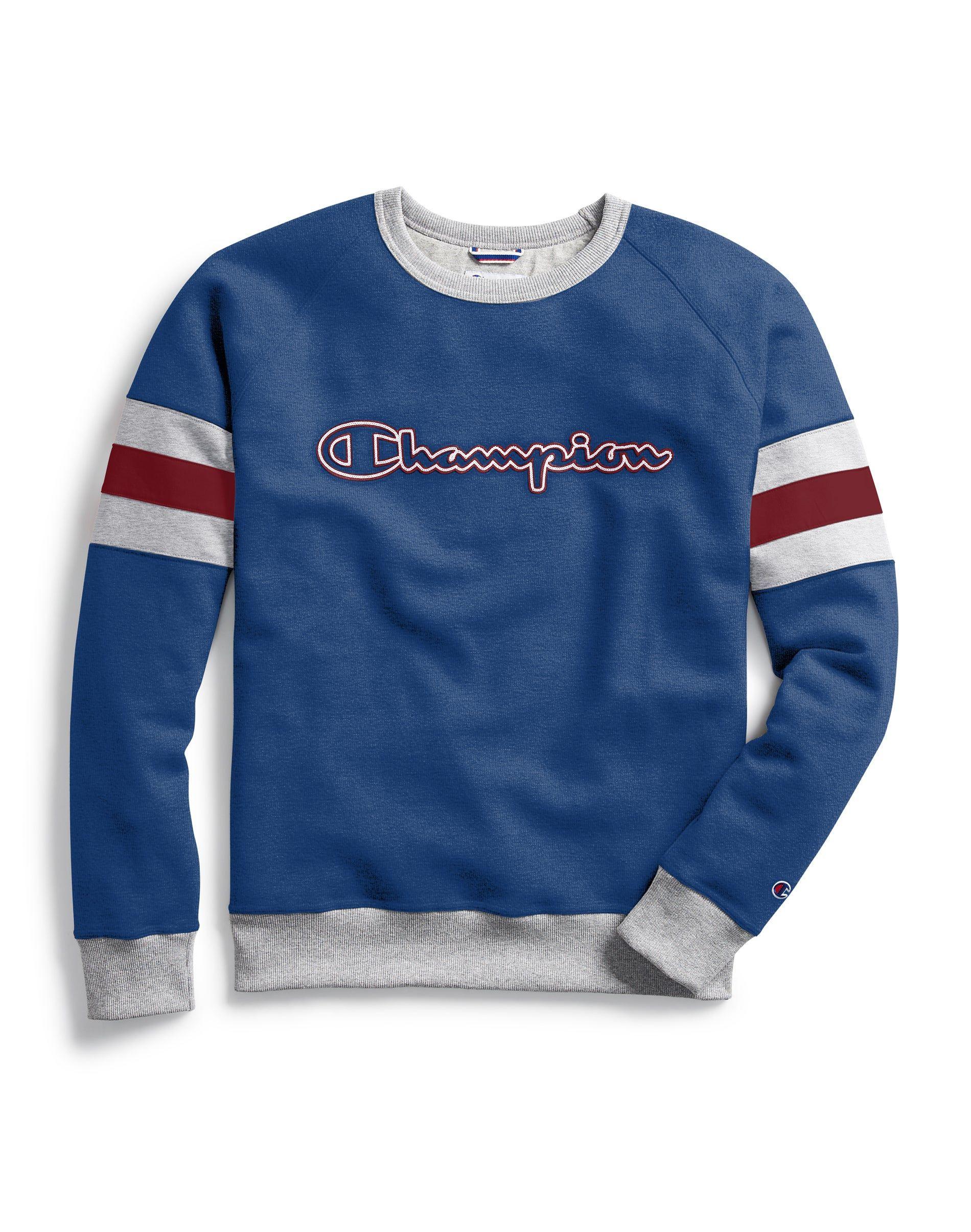 Powerblend Colorblock Crew Outline Logo Sweatshirts Crew Neck Sweatshirt North Face Sweatshirt [ 2410 x 1900 Pixel ]