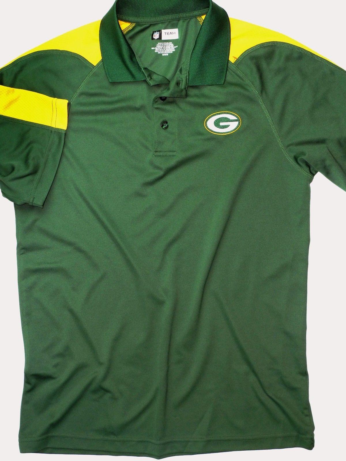 Fantastic Mens Green Bay Packers Nfl Team Apparel Polo Size Medium