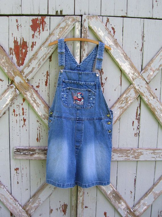 vintage Mickey Mouse shorts overalls #vintage #90s #shortalls #overalls #romper #denim #Disney #MickeyMouse