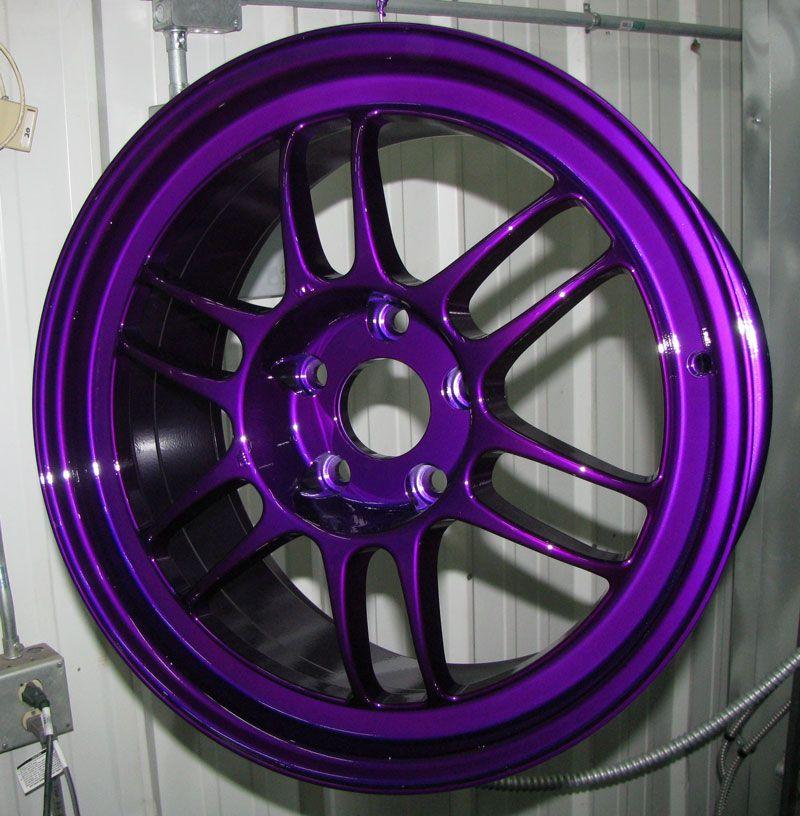 Dormant purple powder coating paint 1 lb purple car
