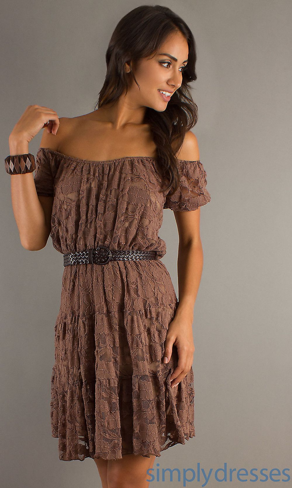 1000  images about Lace dresses on Pinterest | Brown belt, Lace ...