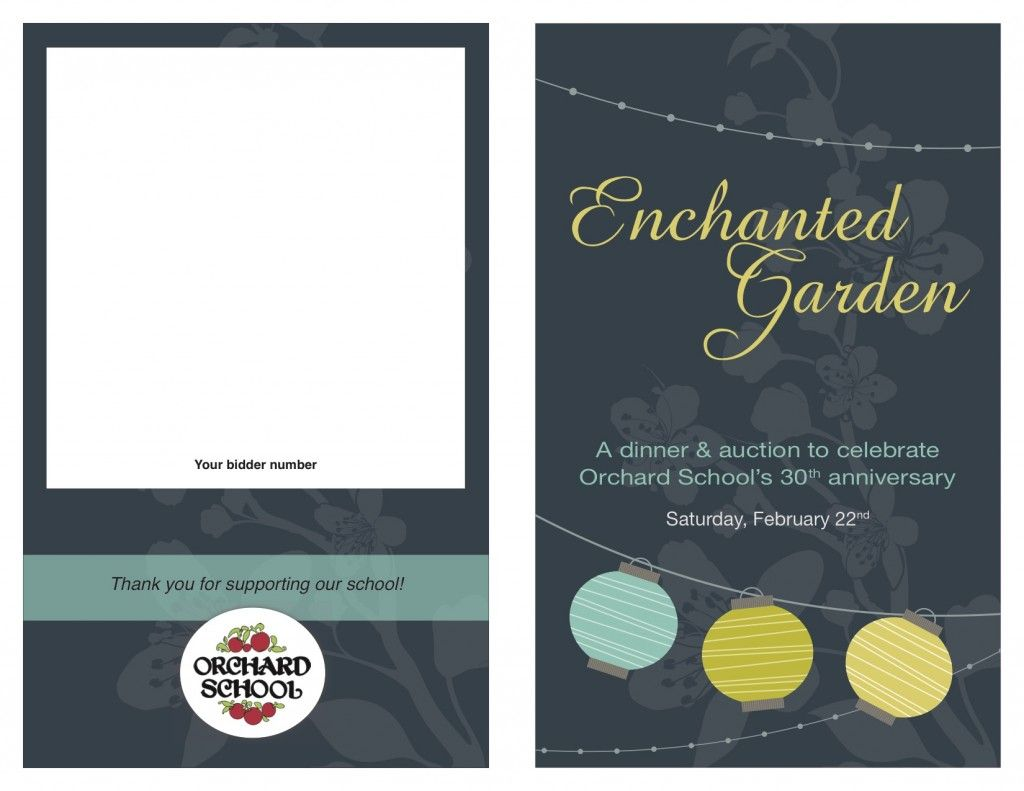 Auction Fundraiser Program Cover Template Learn How To