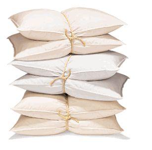 Drown in pillows.