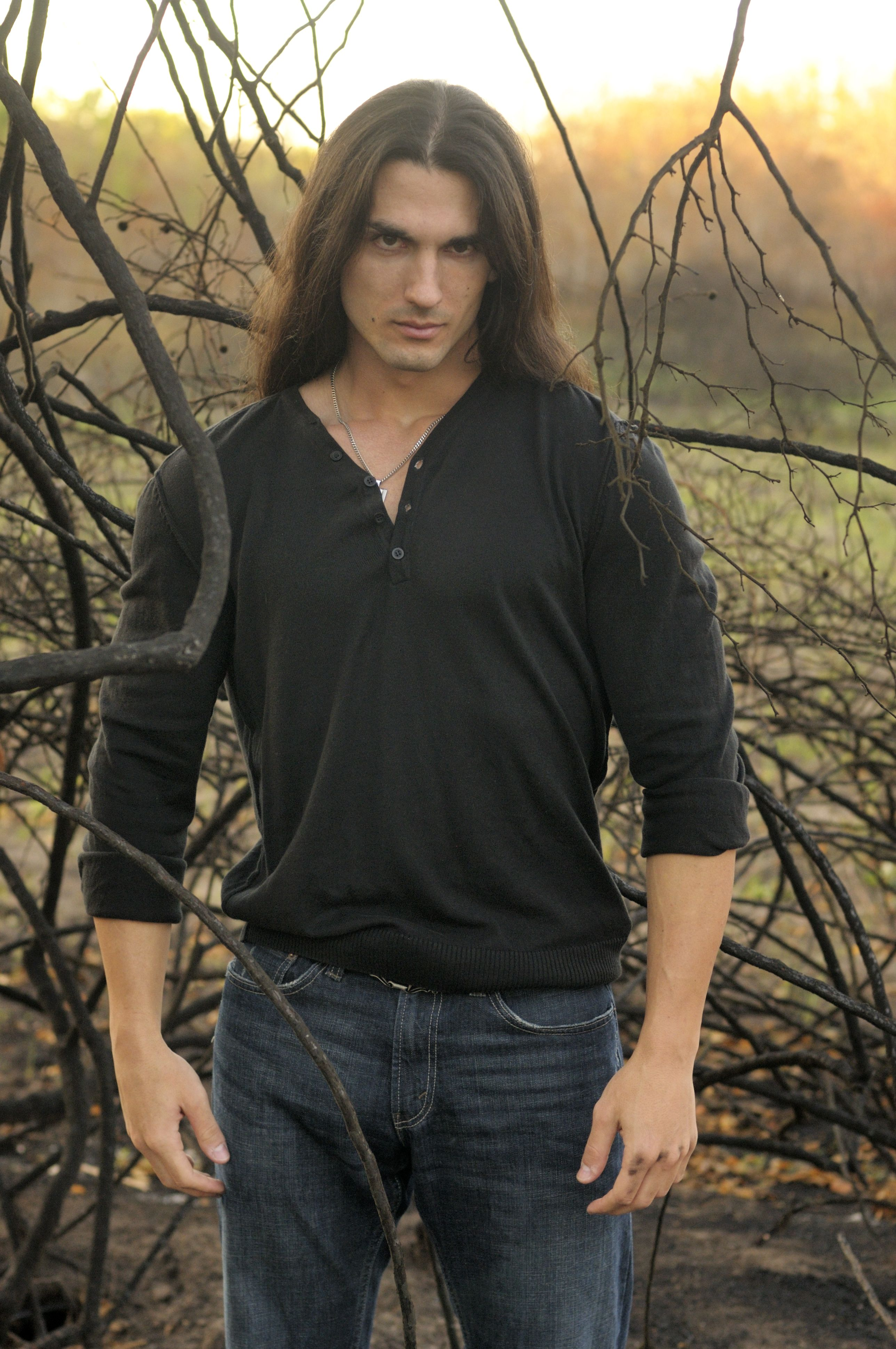Pin On Long Hair Model Muscles