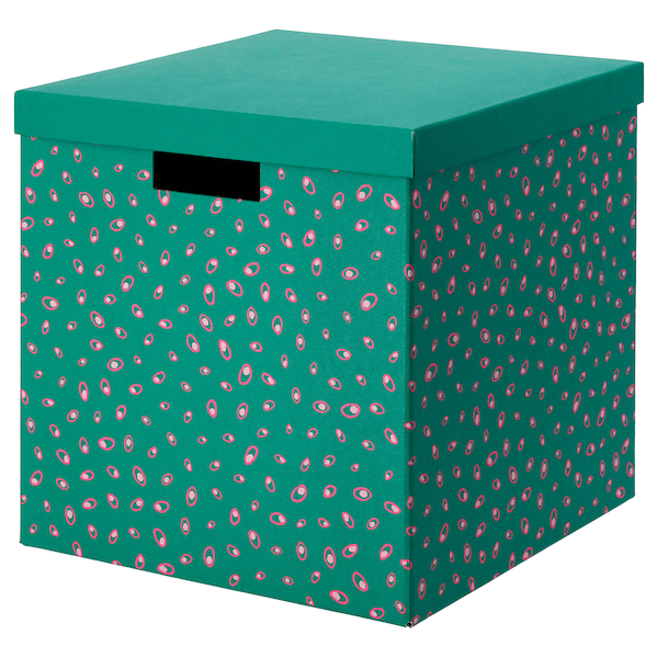 Tjena Ikea Clothes Boxes In 2020 Storage Boxes With Lids Eket Ikea