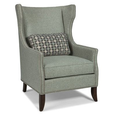 Fairfield Chair Transitional Wingback Chair Color: Indigo