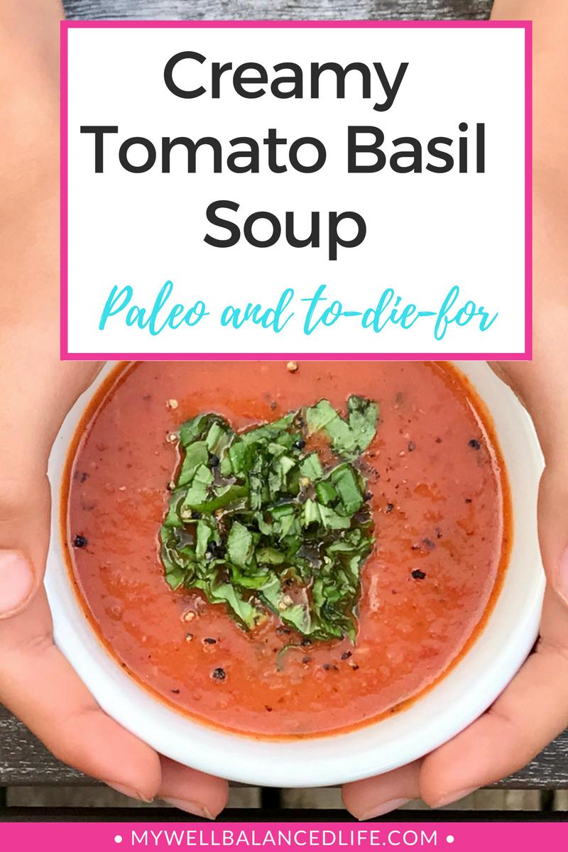 Creamy Tomato Basil Soup Recipe Creamy Tomato Basil