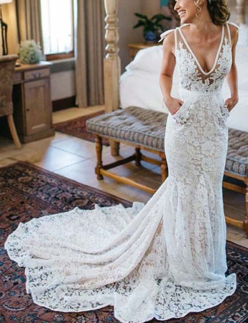 Bridal Dress Shops | Pinterest | Lace wedding dresses, Lace weddings ...