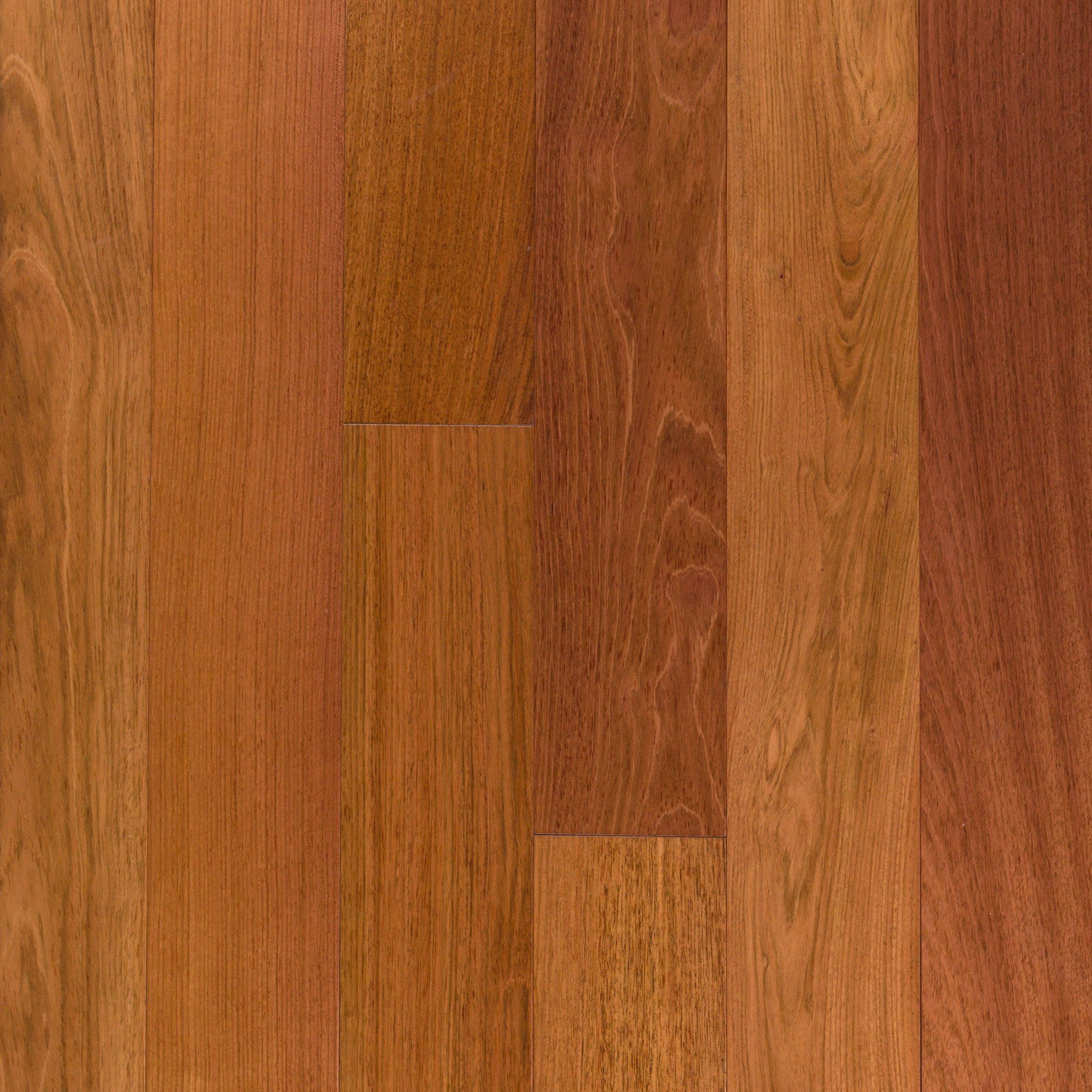 Natural Brazilian Cherry Smooth Solid Hardwood Products In