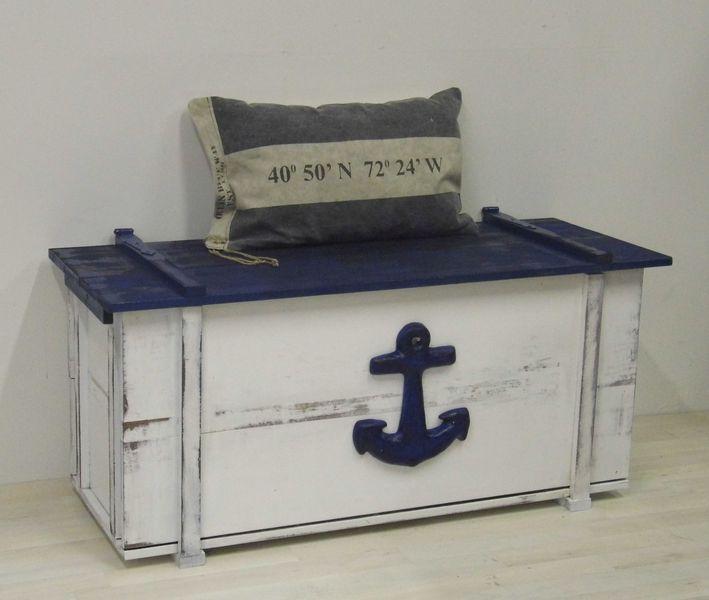 Große maritime Truhe, Vintage-Style, Shabby-Chic Shabby and Vintage - küchenmöbel gebraucht berlin