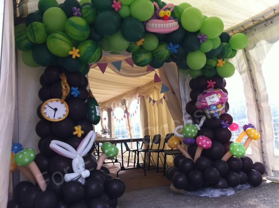 Image result for white rabbit balloon sculpture