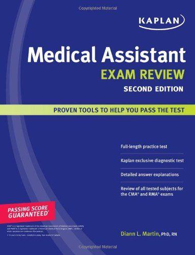 Kaplan Medical Assistant Exam Review Brand Kaplan Publis
