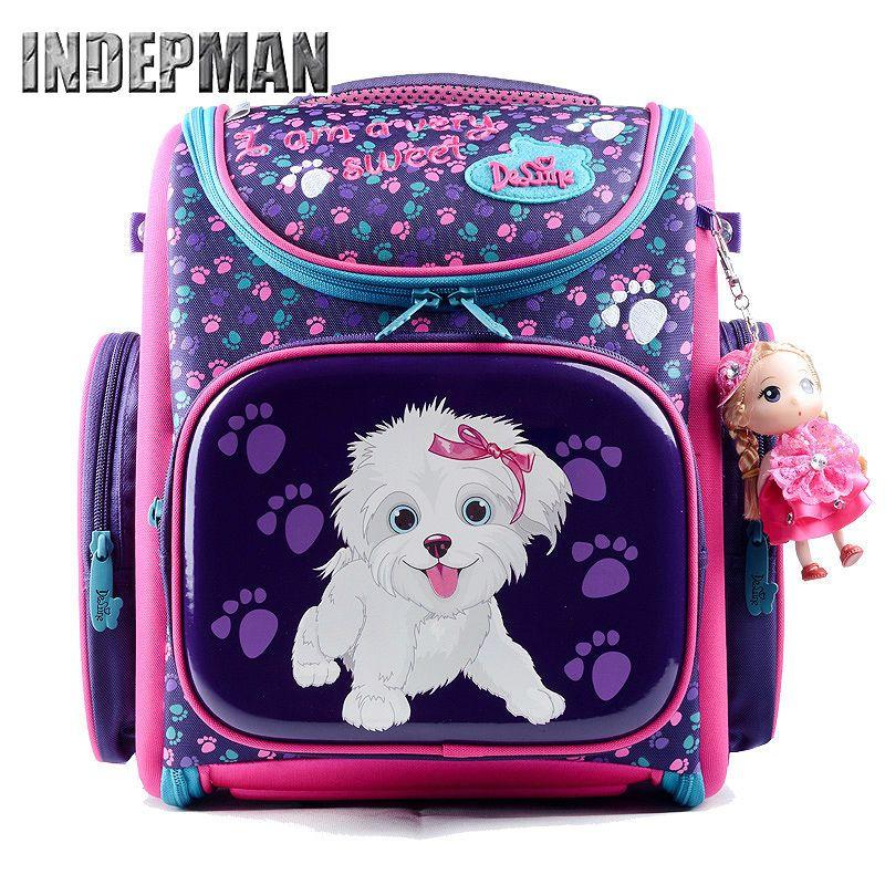 3ed22ed85ac9 Hot Delune Kids Backpack Kindergarten School Bags for Girls Boys Waterproof  Cartoon Children Mochila Escolar Infantil Schoolbag                Click on  the ...