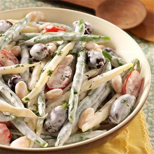 Three Bean Salad Recipe With Mayonnaise