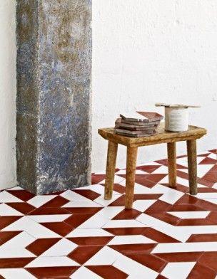 A Faire Soi Même Relookez La Terre Cuite Tile Painted Floors