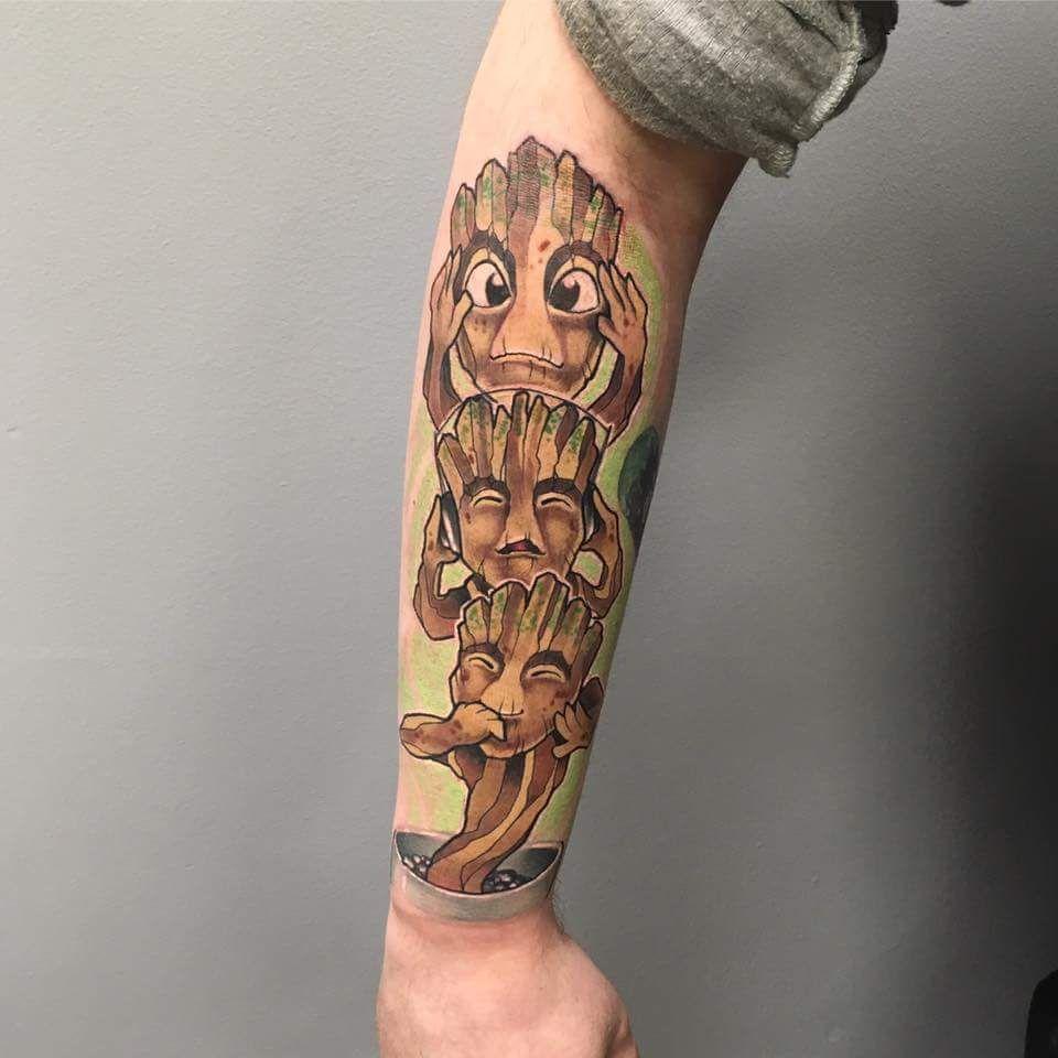 groot tattoo tattoos pinterest tattoo tatting and body art. Black Bedroom Furniture Sets. Home Design Ideas