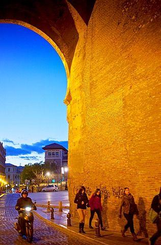 Puerta Elvira, Albaicín Granada, Andalucía, España