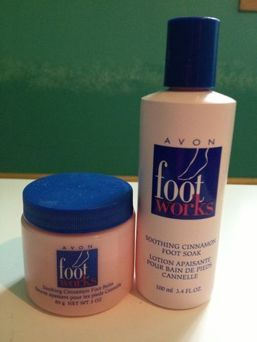 Soothing Cinnamon Foot Care Products from Avon | eBay