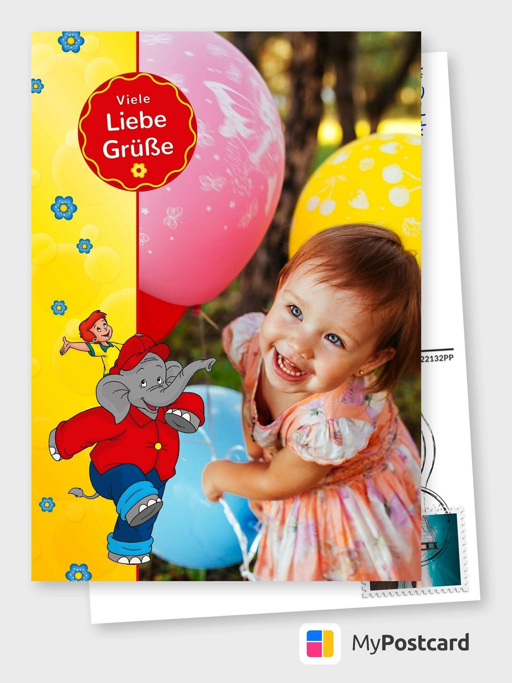 Benjaminblumchen Kindergeburtstag Ausmalbilder Mypostcard