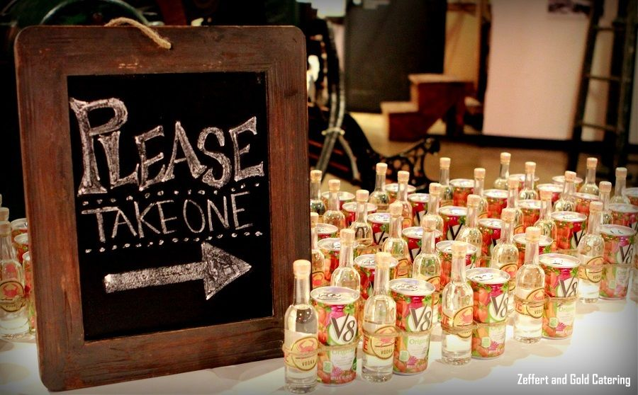 If Youre Looking For An Alcohol Wedding Favor Idea Guests Loved This Bloody