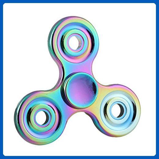 ANTI SPINNER Fortune Wheel New Style Rainbow Fidget Hand Spinner EDC Focus Anxiety Stress