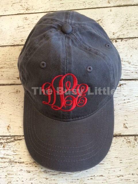 Slate w/ red monogram  www.thebusylittleb.com