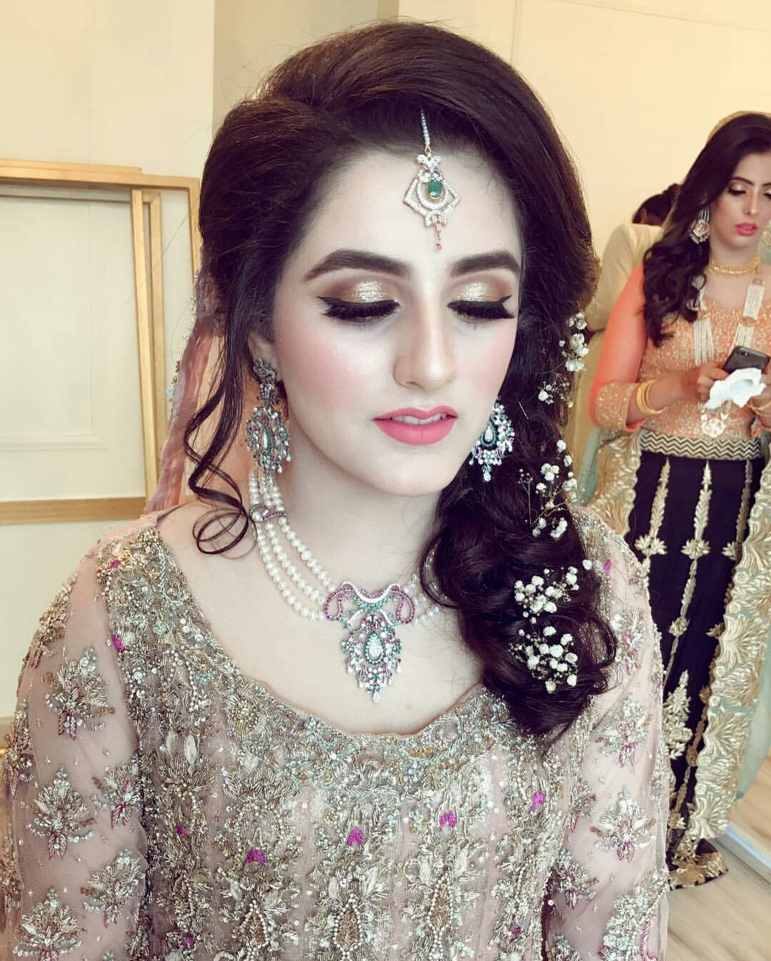 Engagement Hairstyles Pakistani: Pakistani Bridal Makeup