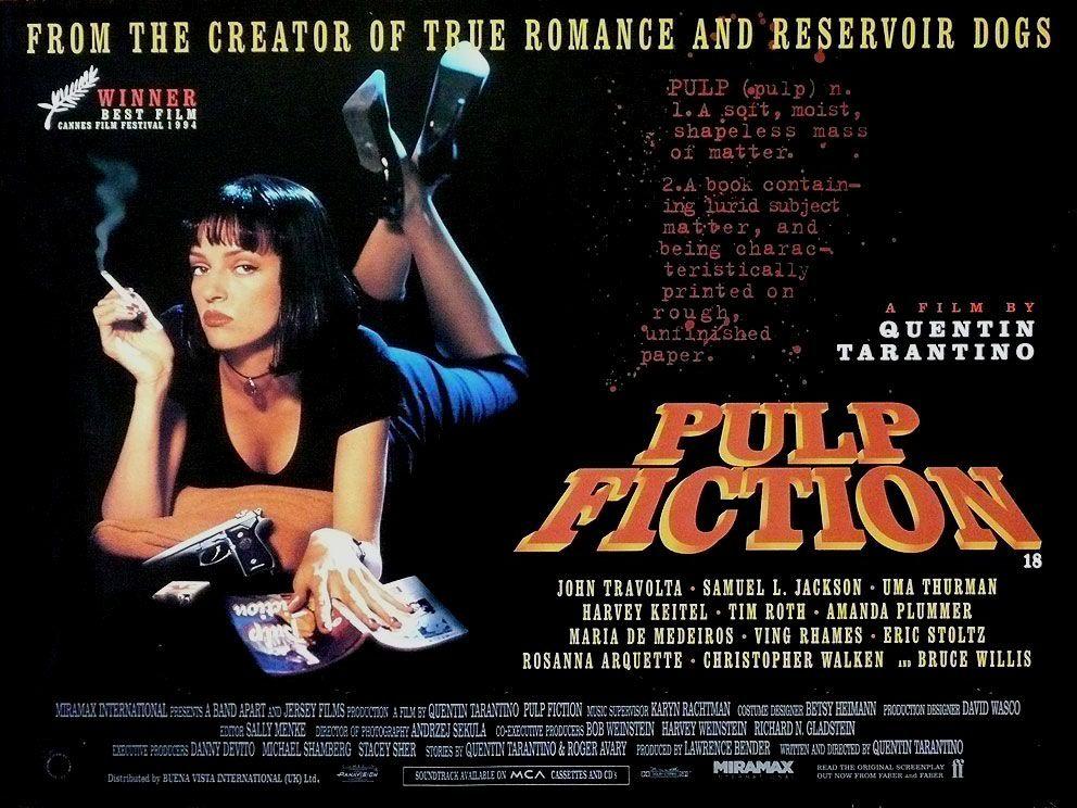 PULP FICTION best modern film noir