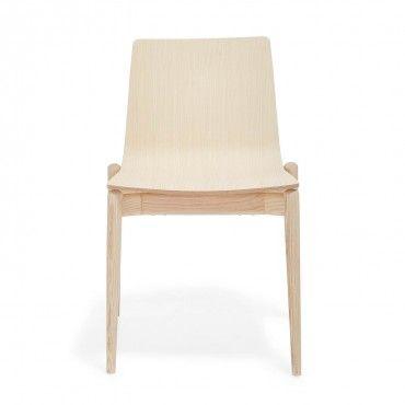 Pedrali Ash Wood Side Chair