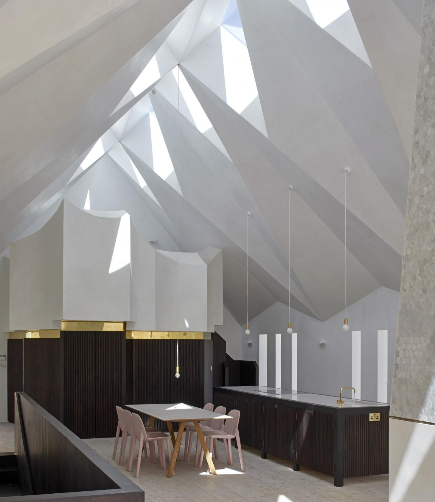 Craftworks Transforms Old Chapel Into Modern Home In London Architectural Assistant Architects London House