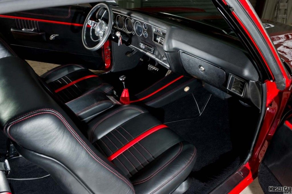 Nicely Done Interior For Muscle Cars.