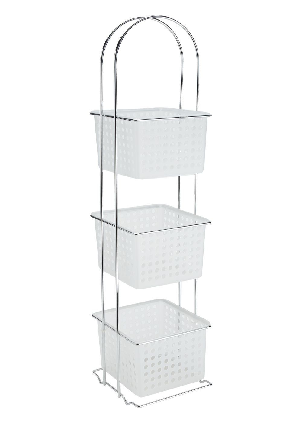 3 Tier Bathroom Caddy (20cm x 19cm x 84cm) - Matalan | Make-up ...