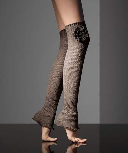 f73f686ce Footless woolen above-the-knee leg warmers from MaxMara Fall 2010-2011  collection