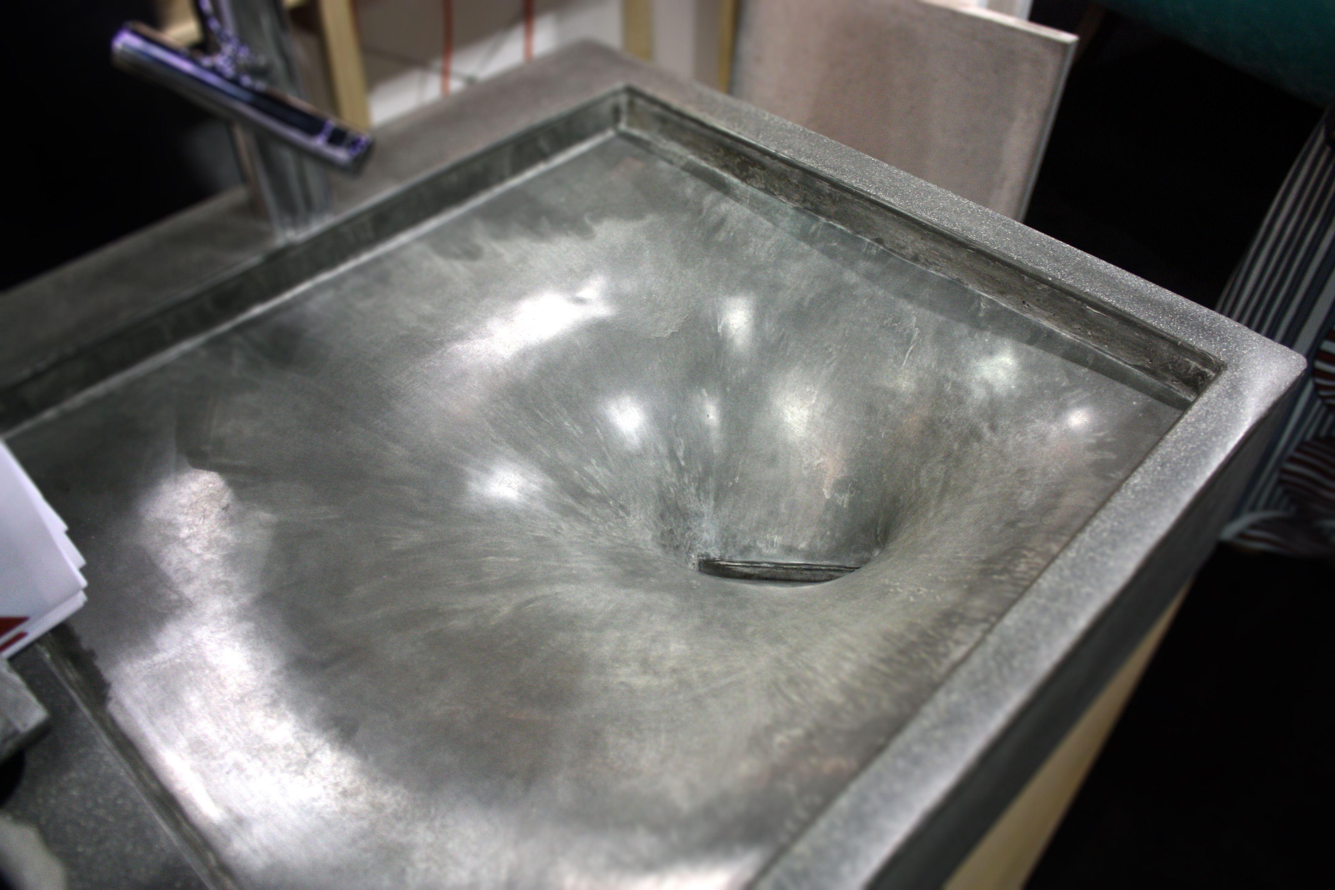 Stretch Concrete Sink Fabric Formed Concrete Sink Concrete Sink Molds Concrete Furniture
