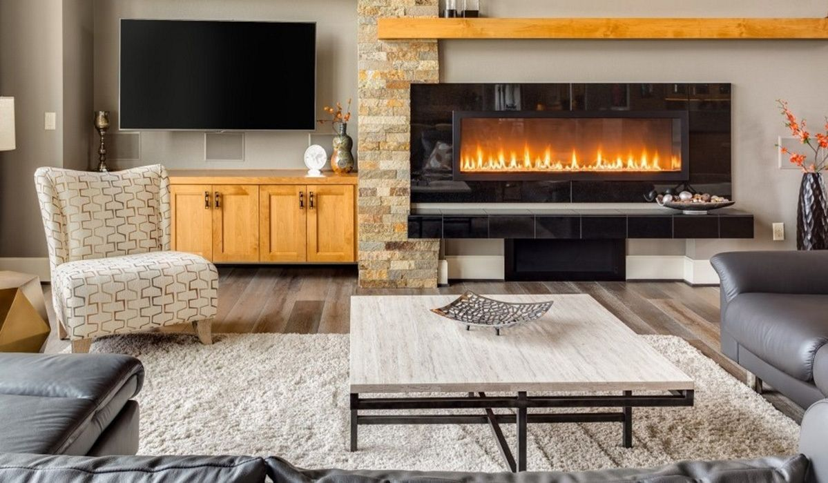 Best Electric Fireplaces Of 2017 Bhg Com Shop Small Li
