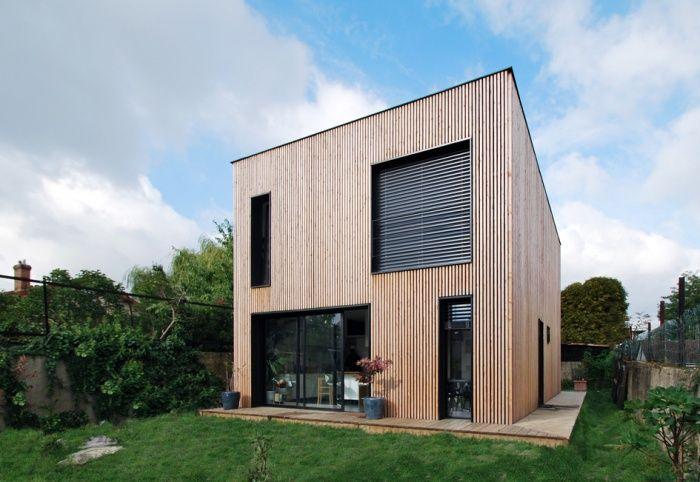 Maison individuelle BBC - ossature bois préfabriquée