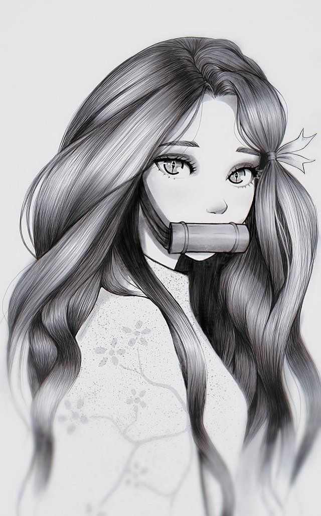 Ponytail Nezuko [Kimetsu no Yaiba] animeponytails