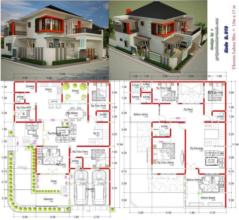Pin Di Model Rumah Minimalis Modern