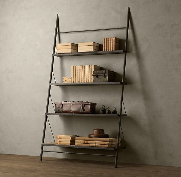 Top 25 ideas about Leaning Shelving on Pinterest | Modern wall decor, Model  homes and Ladder