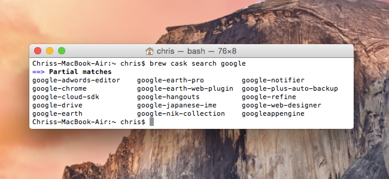 How to Install Packages with Homebrew for OS X in 2020