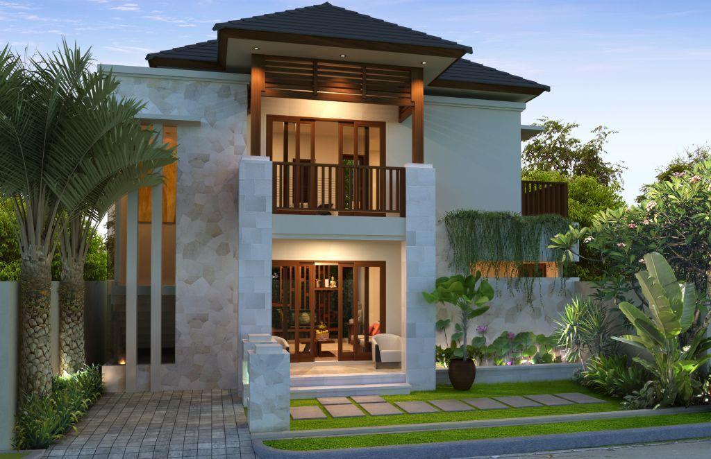 Desain Rumah Minimalis 2 Lantai Ukuran 5x12 Jpg 1024 662 Modern Minimalist House House Designs Exterior Minimalist House Design