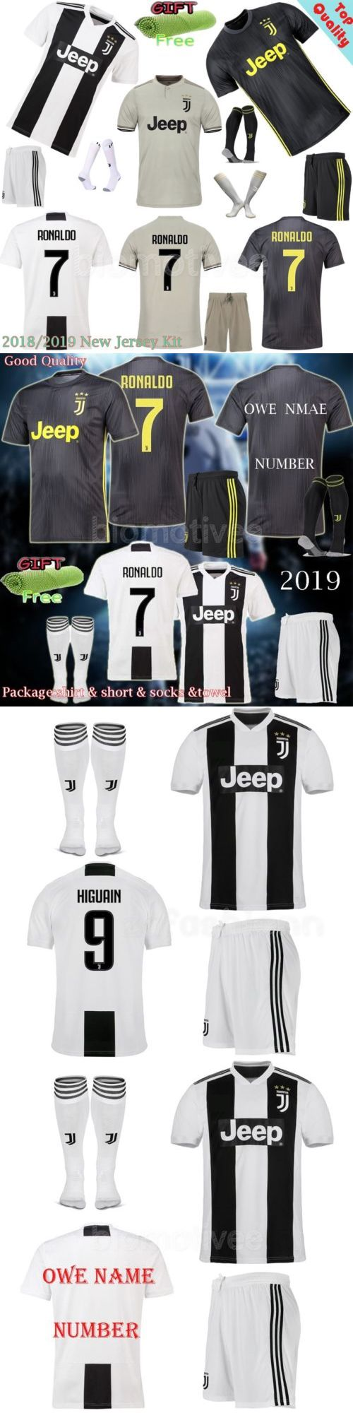 a4ce622e51a Outfits and Sets 156790: 2019 Adult Football Club Soccer Kids Suit Jersey  Kits Shirt Short Socks Outfits -> BUY IT NOW ONLY:… | Outfits and Sets  156790 ...