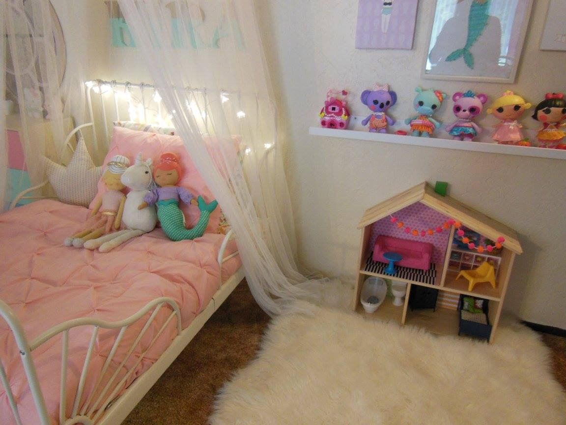toddler be with ikea bed frame and target bedding used