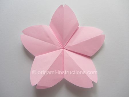 how to Origami Cherry Blossom | happily ever after ... - photo#35