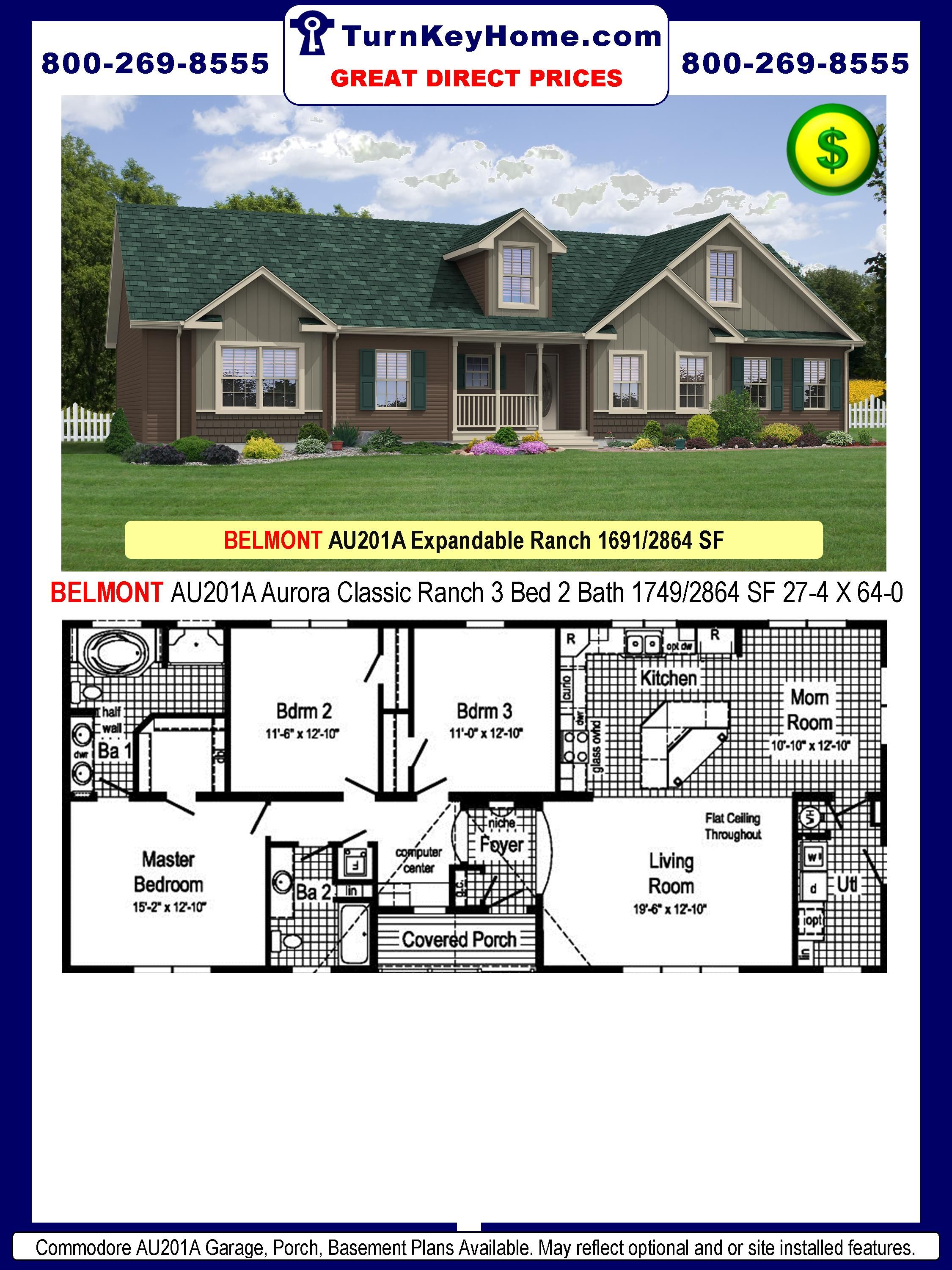 Pin By Brooke Robinson On House Modular Homes Modular Home Prices Modular Home Floor Plans