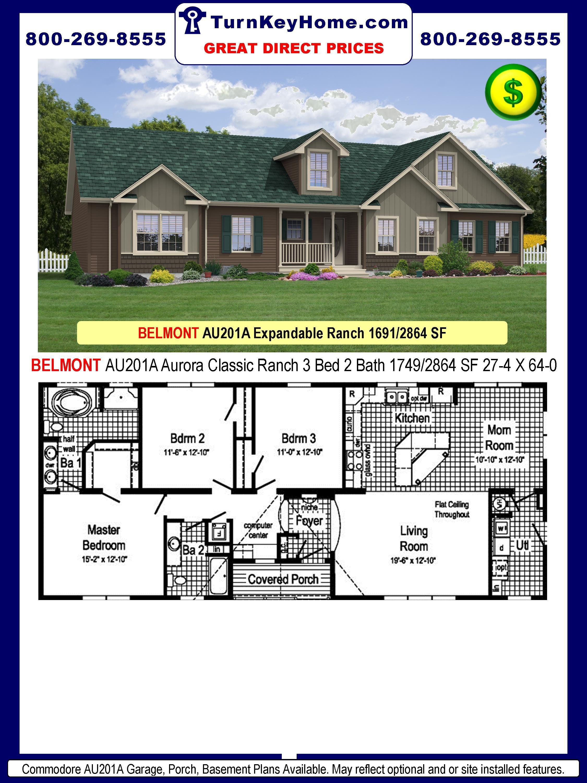 Classic homes belmont model