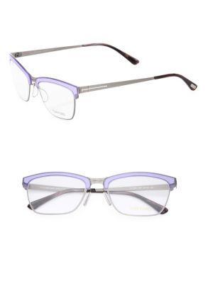 4ba4fa49b585c TOM FORD EYEWEAR 54MM Metal Soft Square Optical Glasses.  tomfordeyewear   glasses