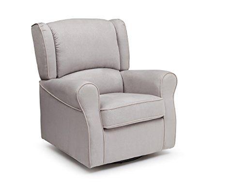 Astonishing Delta Children Morgan Upholstered Glider Swivel Rocker Chair Beatyapartments Chair Design Images Beatyapartmentscom